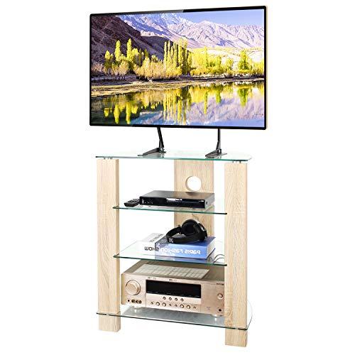 TAVR 4-Tier Wood Media Componten...
