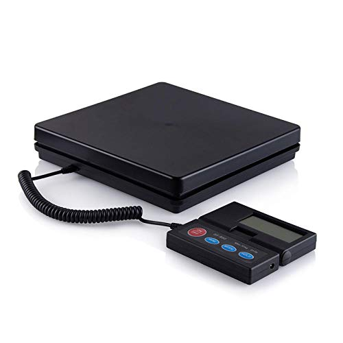 Weegschaal voor postverzending Weegschaal voor post 110 lbs / 50 kg Postweegschaal verzendkosten Pakketbrief Weegschaal Elektronische digitale weegschaal Commerciële weegschaal Lcd
