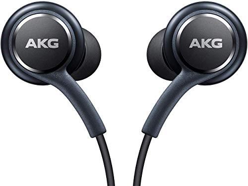 Fones de ouvido estéreo OEM incríveis para Samsung Galaxy S8 S9 S8 Plus S9 Plus S10 Note 8 9 – Projetado pela AKG com microfone + organizador de cabos Pacote sem embalagem de varejo da Envendas