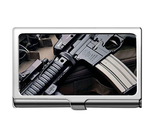 Tarjeta de crédito comercial profesional Caso/ID, M4 Carabina Rifle de asalto Tarjeta de identificación de crédito