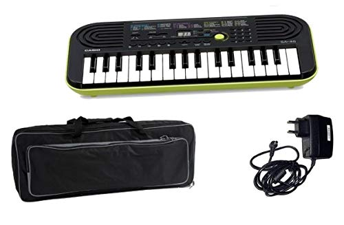 CASIO Kids Pack SA46 toetsenbord/tas/voeding bundel