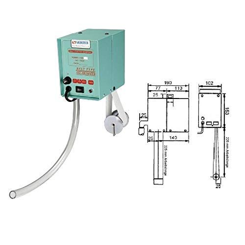Ölabscheider Ölskimmer Bandskimmer 225 mm Arbeitslänge 4 L/h