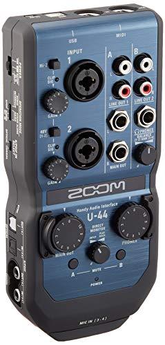 ZOOM ズーム ハンディオーディオインターフェース【メーカー3年延長保証付】 U-44