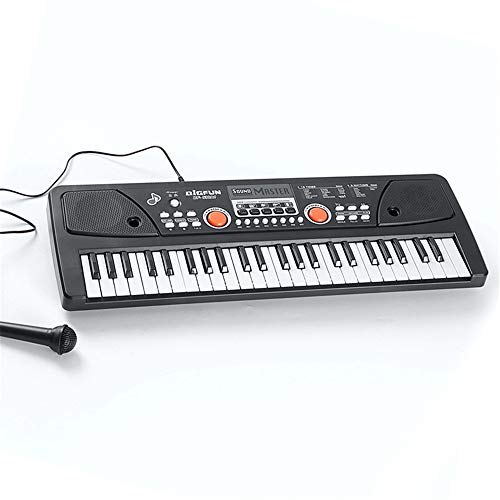 Sale!! 49 Key Keyboard Piano with Wired Microphone Portable Piano Electronic Keyboard for Kids Digital Keyboard Pianos Music Instrument