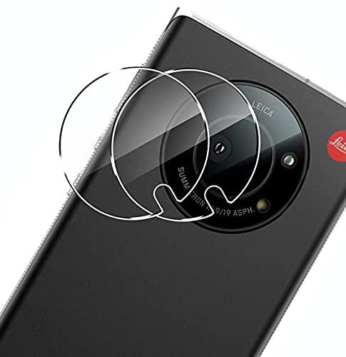 【2枚セット】LEITZ PHONE 1 カメラフィルム 【Kakuki】LEICA LEITZ PHONE 1 カメラ保護フィルム ガラスフィルム 超薄型 2.5D 高透過率 硬度9H 耐衝撃 耐スクラッチ 気泡ゼロ 指紋防止 飛散防止 LEITZ PHONE 1 対応 (クリア)