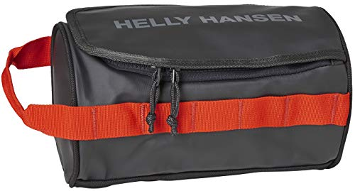 Helly Hansen HH Wash Bag 2 Neceser, Unisex Adulto, Ébano/Tomate Cereza, STD