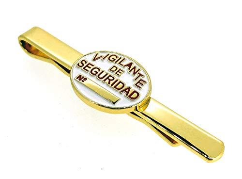 Pasador de Corbata de Placa de Vigilante de Seguridad