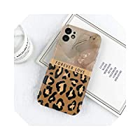 Zhiia For iPhone 11 Leopard Marble Pattern Case For iPhone 11 Pro Max X XR XS Max 7 8 Plus SE2020ファッションソフトIMD裏表紙-T1-For iPhone XS Max