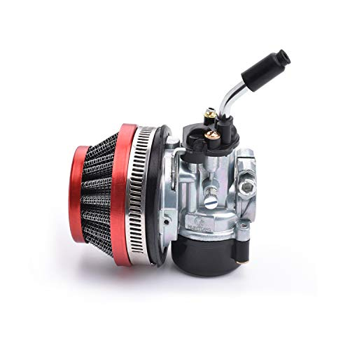 Racing Carburetor 2 Stroke 49cc 66cc 70cc 80cc With Air Filter For 2 Stroke Engine Motorized Bicycle RED