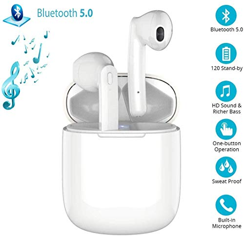 Bluetooth Kopfhörer,Bluetooth 5.180 Headset Stereo