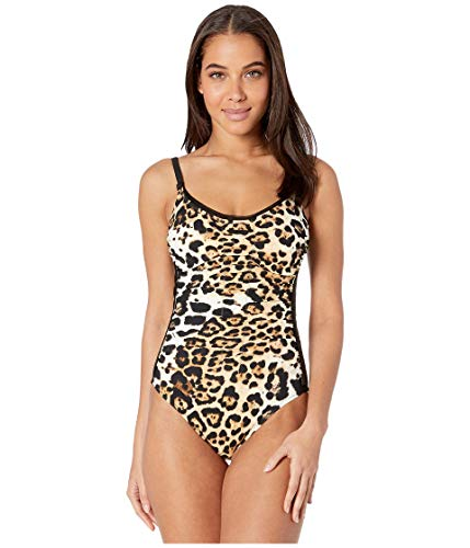 SHAN Kawa Ruched Front Tank One-Piece Multi 8