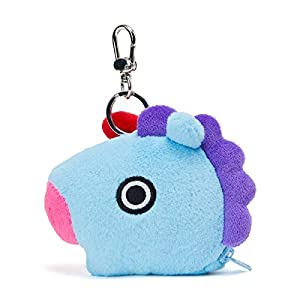 BT21 Official Merchandise by Line Friends – Character Keychain Coin Purse Bag Charm