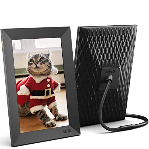 Nixplay Smart Digital Picture Frame 10.1 Inch, Share Video Clips and Photos Instantly...