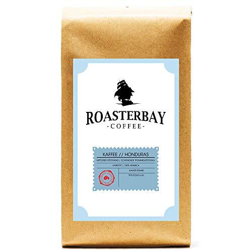 Roasterbay Crema 500g | Honduras | Premium - Ganze Bohne - Röstkaffee aus dem Hochland | milde Röstung | wenig Säure