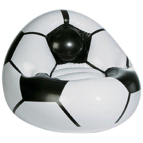 DekoWoerner Fußballsessel aufblasbar 80cm