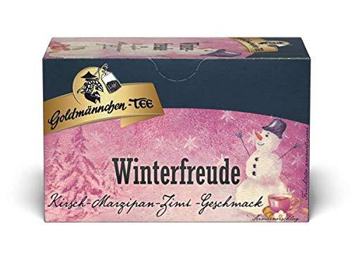 Goldmännchen-TEE Winter-Freude (Kirsche-Marzipan-Zimt) 45g