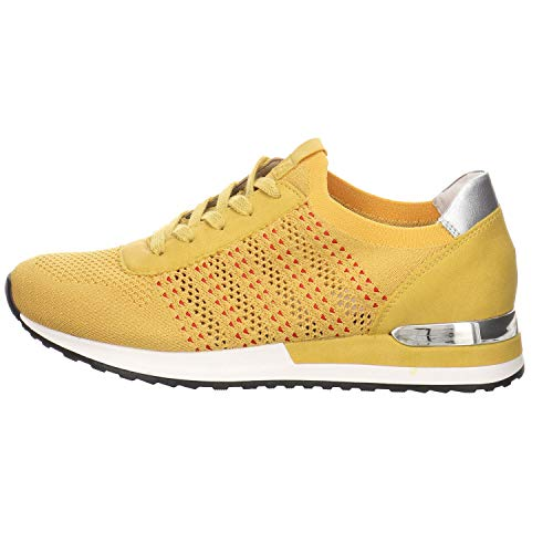 Remonte Donna Scarpe Stringate Basse R2507, Signora Sneaker,Scarpa Allacciata,Scarpa da Strada,Scarpa Casual,Sonne/Sonne/Silver,39 EU / 6 UK