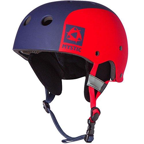 Mystic Watersports - Surf Kitesurfen und Windsurfen MK8 Multisport-Helm - Navy 140650 - Leichtgewichtler - Hochleistungs-Thermoplastik