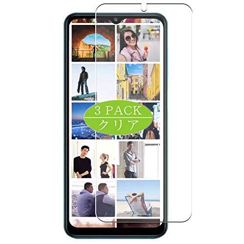 VacFun 3 Piezas Claro Protector de Pantalla, compatible con Samsung Galaxy F02s, Screen Protector Película Protectora(Not Cristal Templado)