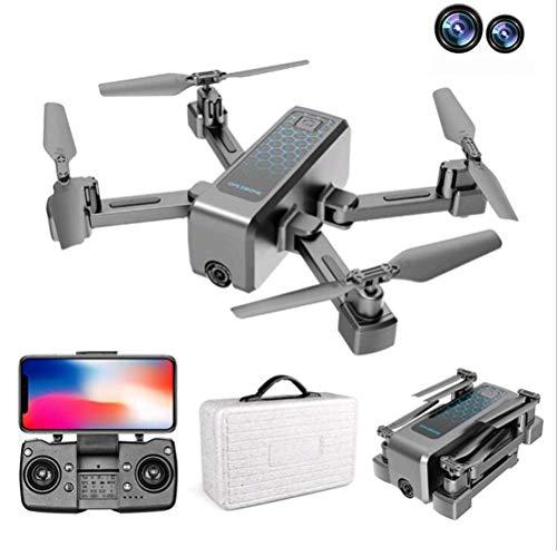drones Con cámara 4K HD, posicionamiento GPS para drones, transmisión en tiempo real WiFi 4k drone 5G, mini drones Con cámaras duales, drone fpv Con modo disparo MV, duración la batería 40 minutos