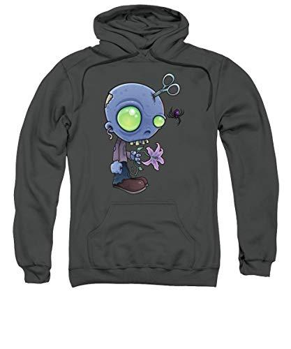 Zombie Junior - Sudadera con capucha, color gris