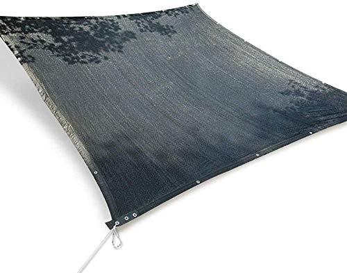 Lanrui 2mX4m Pantalla de Tela Exterior 95% Negro Bloqueador Solar sombreado Neto Amplia Zona de jardín Pergola Patio Piscina Porche Personalizable (Tamaño: 3M 6M ×) Tamaño: 5M × 5M (Size : 4M×7M)