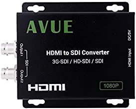 AVUE SDHT01 Standard HDMI to 3G-SDI/HD-SDI/SDI Video and Audio Converter