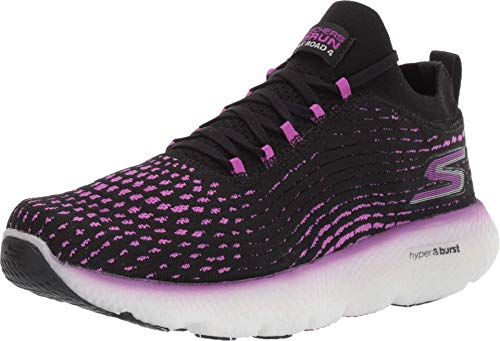 Skechers Max Road 4 Black/Purple 9 B (M)