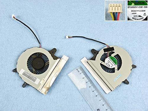 Kompatibel für ASUS X501, X501U Lüfter Kühler Fan Cooler