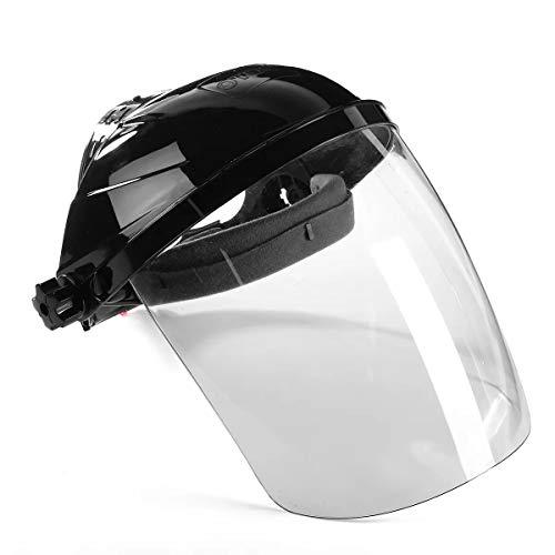 Casco de soldadura profesional, Careta de soldadura máscara transparente de la lente anti-UV antichoque casco de soldadura Accesorios de soldadura