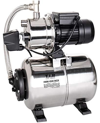 T.I.P. 31140 Central de agua doméstica HWW 4500 Inox de acero inoxidable