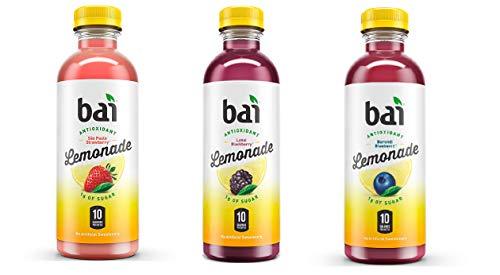 bai Lemonade Variety Pack 15 /18 Fl Oz Net Wt 270 Fl Oz