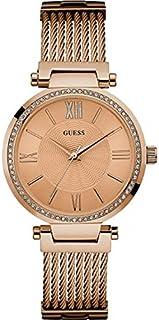 Guess Dress Watch for Women - Analog / Gold Metal - w0638l4