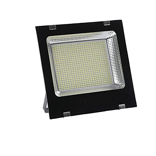 QQWJSH Luz de inundación llevada al Aire Libre Impermeable 100W Proyector 50w Reflector 200w Luz de jardín Publicidad Luz de la habitación de fábrica 300w Proyector de Sitio de construcción