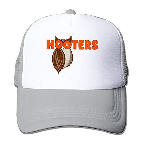 Nigmfgvnr Baseball Caps Owl Save The Hooters Adjustable Sports Trucker Cap Sun Hats one Size Aschgrau