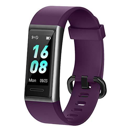 Brazalete de Fitness, rastreador de Fitness LIFEBEE con Monitor de frecuencia cardíaca, rastreador de Actividad de Reloj Inteligente Resistente al Agua IP68 14 Modos de Entrenamiento