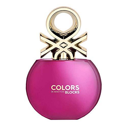 Benetton Colors De Benetton Pink For Her Eau de Toilette, Spray, 80 ml