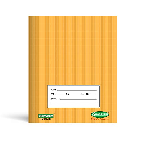 Winner Brown Note Book (One Line) - 172 Pages (Pack of 12) E-8
