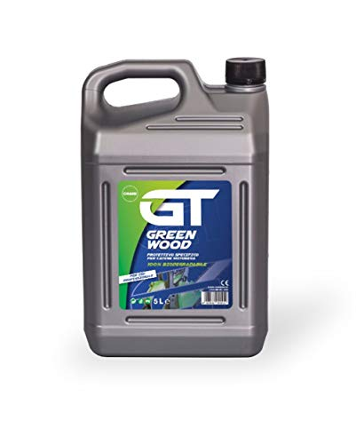 elettrosega olio GT Green Wood Olio Per Catena Motosega 5 LitrI - 100% Biodegradabile