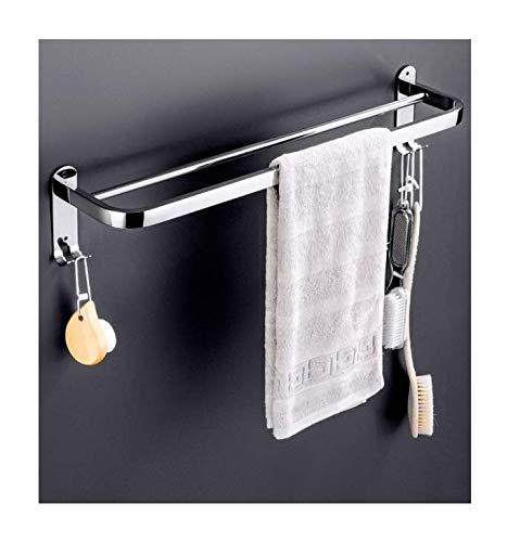 ningwangyan Badkamer roestvrij staal dubbele handdoek bar eenvoudig en royaal 38cm-118cm, 9