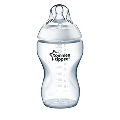 Tommee Tippee Closer to Nature Added Cereal Baby Bottle, Y-Cut Nipple, Easy Latch Nipple, 11 Ounce, 1 Count
