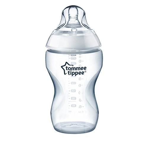 Tommee Tippee Closer to Nature Added Cereal Baby Bottle, Y-Cut Nipple, Easy...