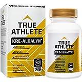 True Athlete Kre Alkalyn 1,500mg Helps Build Muscle, Gain Strength Increase Performance, Buffered Creatine NSF Certified for Sport (60 Capsules)