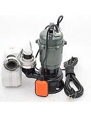 !! Professionele !! Fecaliënpomp dompelpomp vuilwaterpomp met 20m C-slang Hunter 0,55kW deeltjes tot 30mm