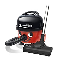 Henry Extra has all the standard features of Henry and more. The unique Airobrush provides a superb level of carpet care and is ideal for cleaning up pet hairs. The hard floor brush is a bonus when cleaning hard floor surfaces, just one part of the c...
