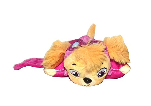 The Lakeside Collection Nickelodeon Paw Patrol Mini Pillow Pet, 4 X 2.5 X 5 inches (Skye)