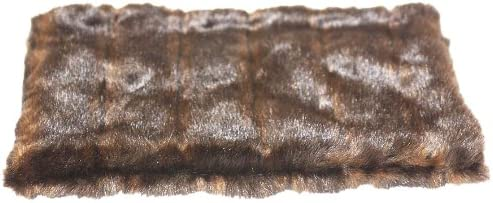 The Dog Squad Sales for sale All Plush Kennel Brown Ocelot Max 74% OFF Pet Bed Cover