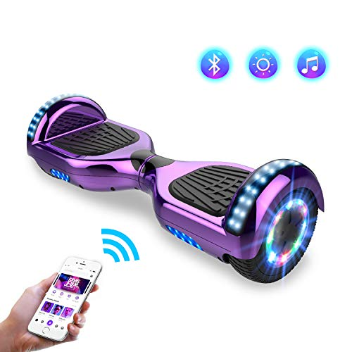 Hoverboards, Bluetooth 6.5 Pouces Self Balancing...