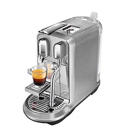 Capsule Coffee Machine Home Automatic Capsule Trial, Sistema Anti-Goteo, Crema Leche Latte, Cappuccino, para Oficina, Hogar, etc.