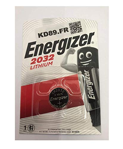 40 x Energizer CR2032 Coin Battery Batteries Lithium 3V for Watches Torches Keys
